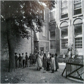 speelplaats havelozeschool 1900
